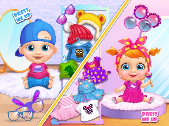 Crazy Twins Baby House - No Ads screenshot 8