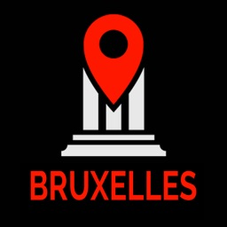 Brussels Travel Guide Monument Tracker Offline Map
