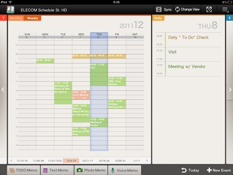 Schedule St. HD screenshot-1
