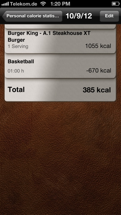 Calorie Calculator Pro screenshot-4