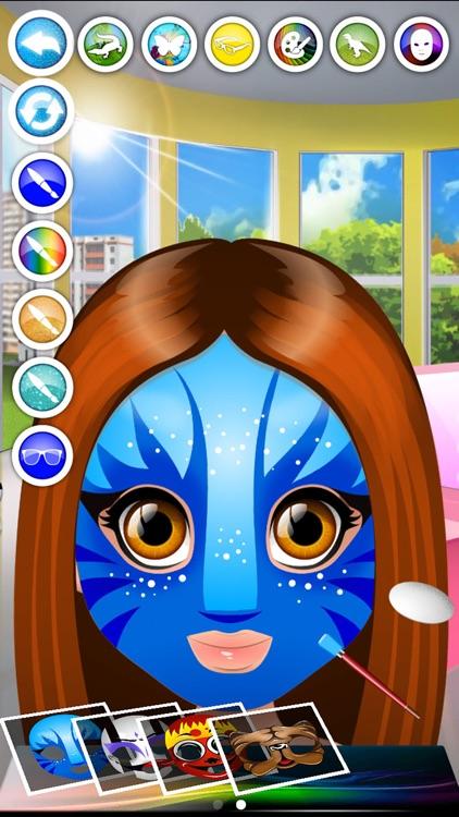 Kids Face Paint - Makeup & Spa Girls Salon Games
