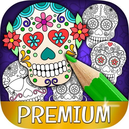 Digital Mexican Coloring Page Vivora – Cynthia Cabello | 512x512