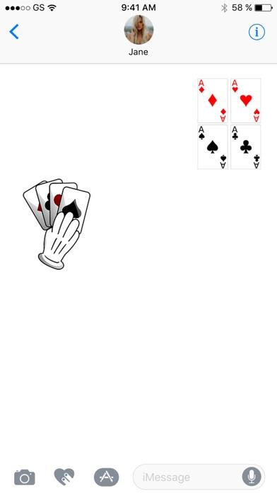 カードステッカーパックを再生のスクリーンショット3