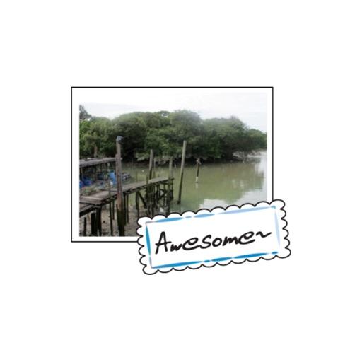 Seaside Village stickers by wenpei