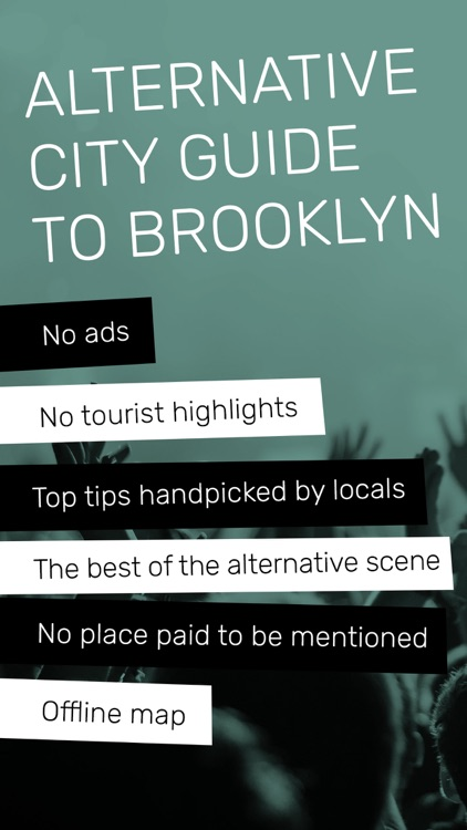 Indie Guides Brooklyn, guide & offline map