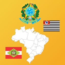 Brazil State Maps, Flags, Info