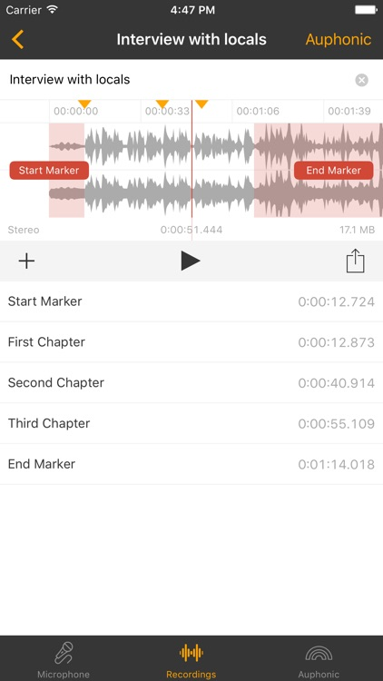 Auphonic Recorder screenshot-2