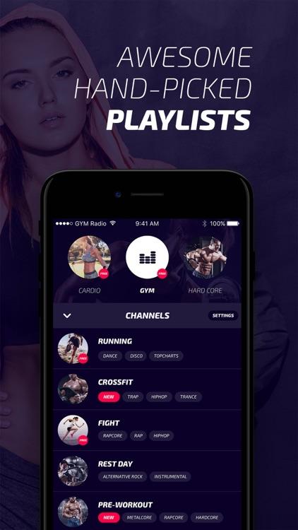 GYM Radio - Free Workout Music