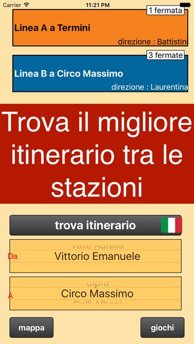 Screenshot of Metropolitana di Roma1