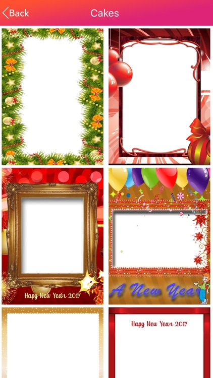 New Year Photo Frames HD screenshot-3