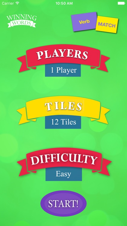 Verb Match screenshot-1