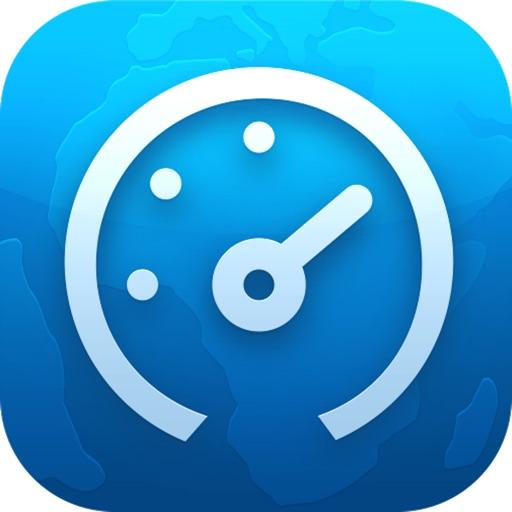 宽带测速-检测网络上传下载速度 app logo