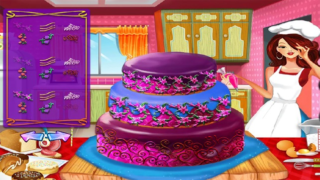 Realistic Wedding Cake Decor Games Cooking Girl On The App Store