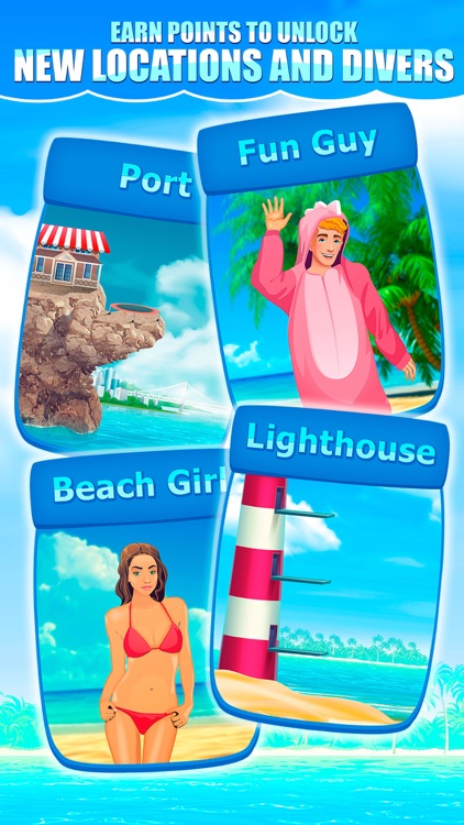Cliff Flip Diving 2D: Swimming Simulator