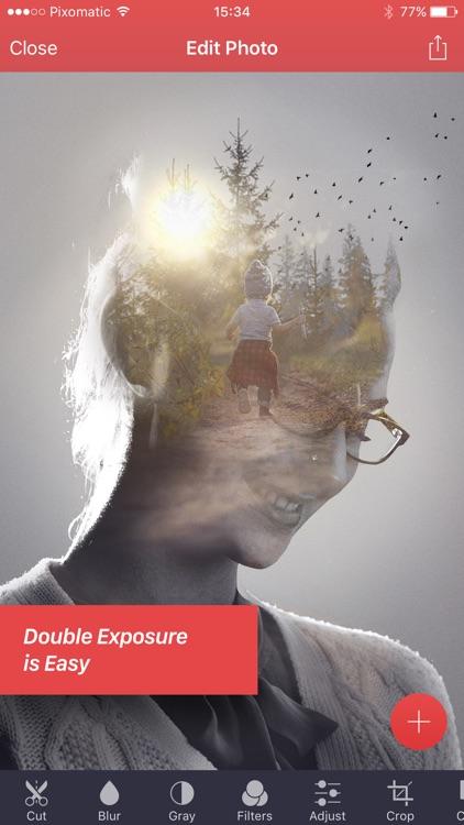 Pixomatic - layer based photo editor app image