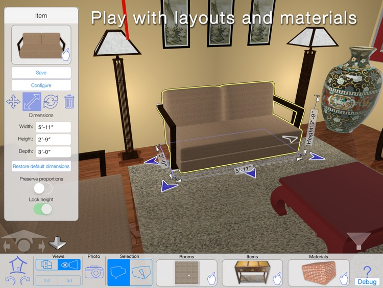 Casa Designer 3D - Home Makeover screenshot-4