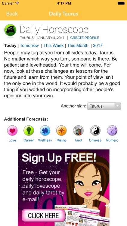 Daily Horoscope - Free Astrology & tarot reading by Nina Maibach