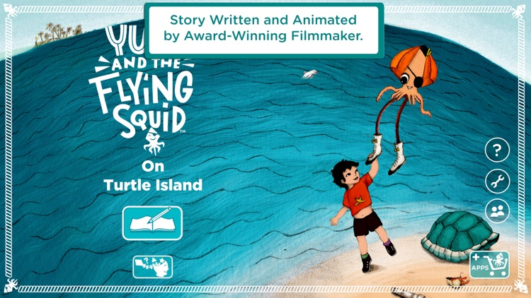 Yuri and The Flying Squid, Personalized StoryBooks