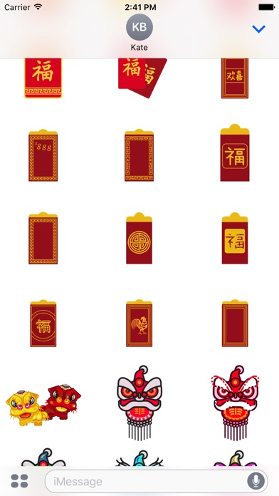 Red Packet For Chinese New Year Stickers-1