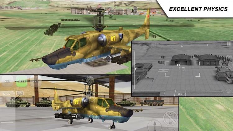 Black Shark - Combat Gunship Flight Simulator screenshot-3