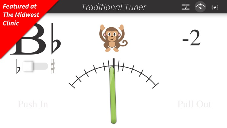 Bandmate Chromatic Tuner Pro screenshot-0