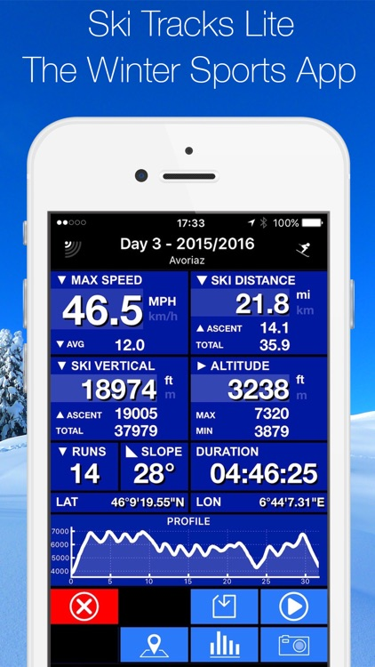 Ski Tracks Lite screenshot-0