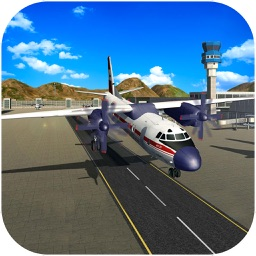 Airplane Rescue Flying Simulator