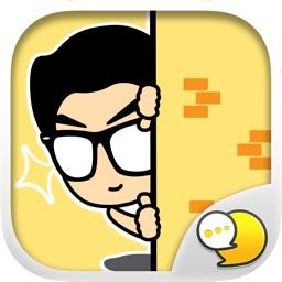 MASTERPEACE Emoji Stickers for iMessage Free