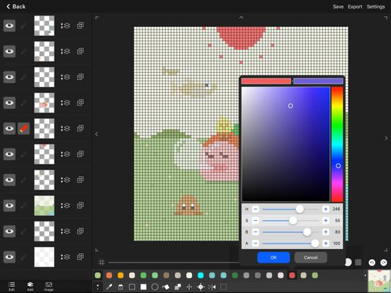 Pixel art editor - Dottable - by Yosuke Seki (iOS, United States
