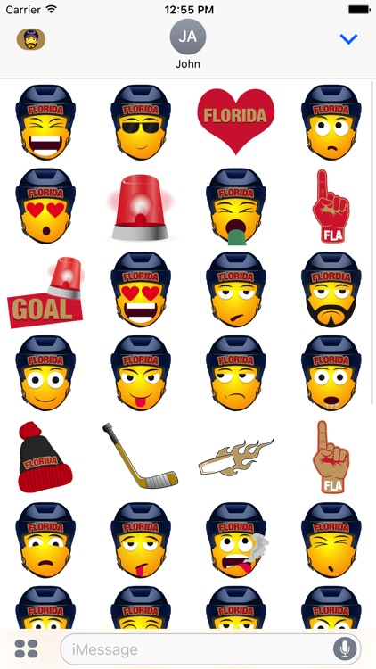Florida Hockey Stickers & Emojis screenshot-3