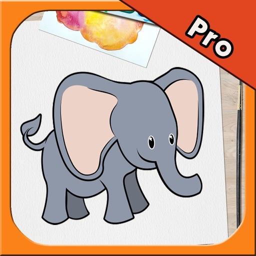 Animal Kid Coloring Book Pro 2