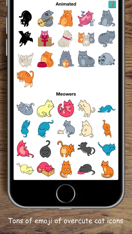 Kittymoji - Trending & Fun Cat Emojis and Stickers screenshot-3