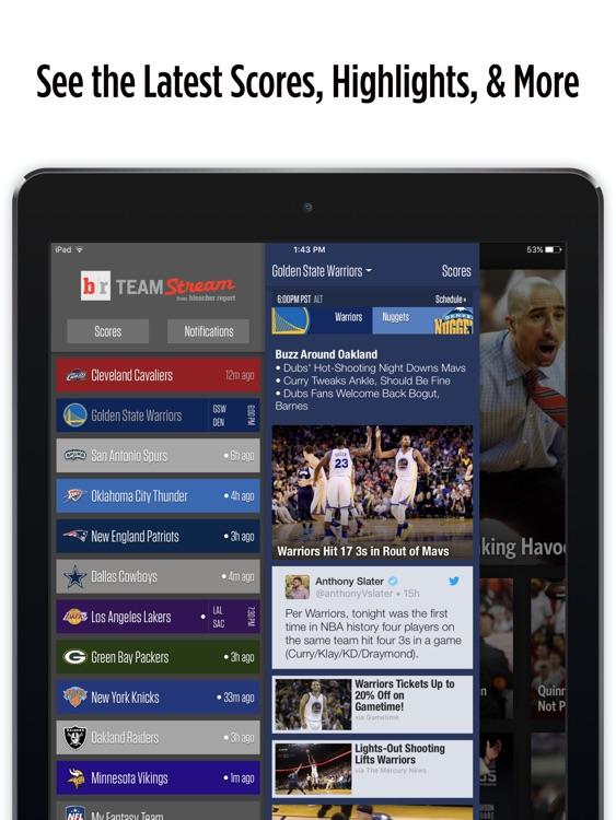 Team Stream for iPad