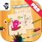 Monster Kids Coloring Book Pro