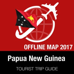 Papua New Guinea Tourist Guide + Offline Map