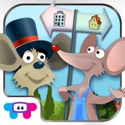 Town Mouse & the Country Mouse - Kids Story Book
