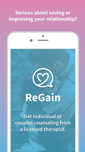 Regain counseling on the app store screenshots solutioingenieria Choice Image
