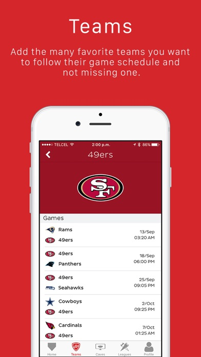 Man Cave - Sports Fans Social Network Preview 1