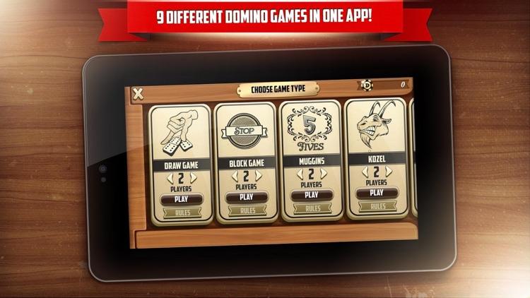 Dominoes online - ten domino mahjong tile games screenshot-4