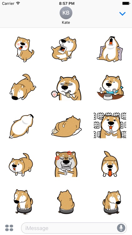 Doggomoji - doge animated gif stickers