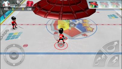 Screenshot from Arcade Hockey 18