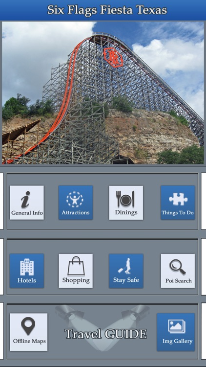 The Great App For Six Flags Fiesta Texas