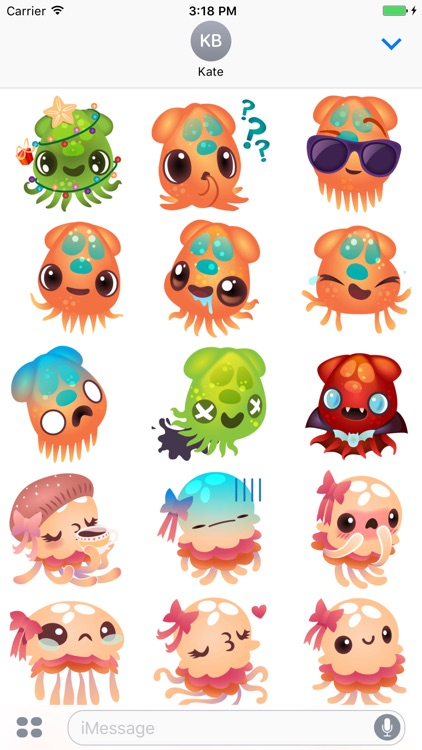 Tentatrio! Jellyfish, Octopus & Squid Pals