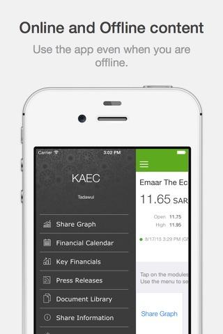 KAEC Investor Relations - náhled
