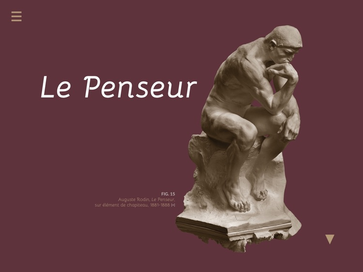 Rodin, l'e-album de l'exposition du centenaire screenshot-0