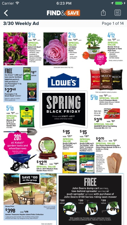 Find&Save - Cash Back, Coupons, and Local Shopping screenshot-3