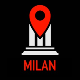 Milan Travel Guide Monument Tracker - Offline Map