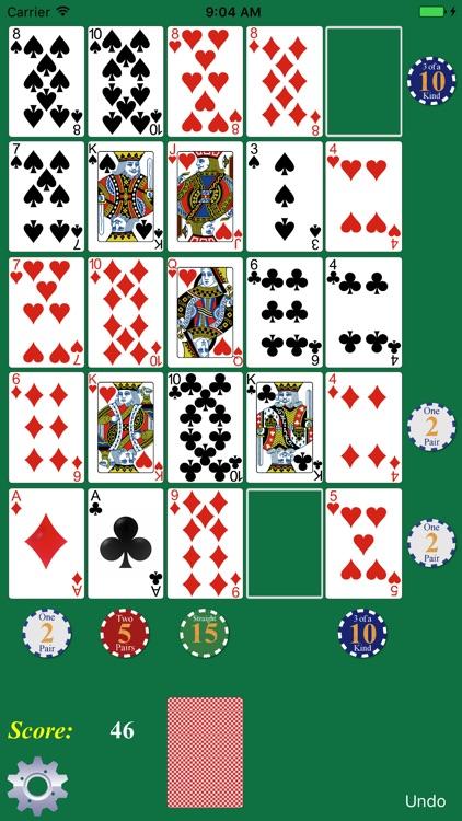 Poker Solitaire screenshot-0