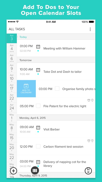 Gneo:  To Do Task List and Calendar Manager screenshot-1