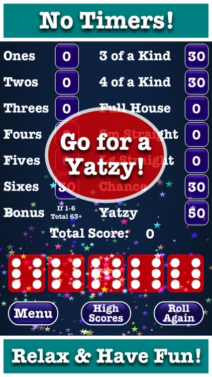 Totally Yatzy Classic Dice Fun